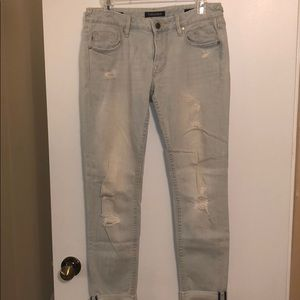 Vigoss distressed light jeans the Thompson tomboy
